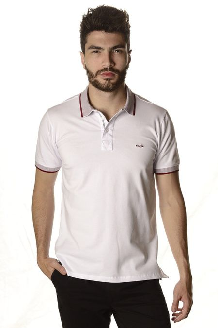 POLO NAGLE LISA PIQUET BRANCO