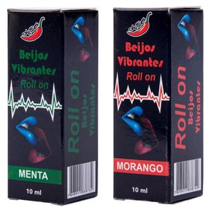 GEL DO BEIJO VIBRANTE EM ROLLON 10ML CHILLIES