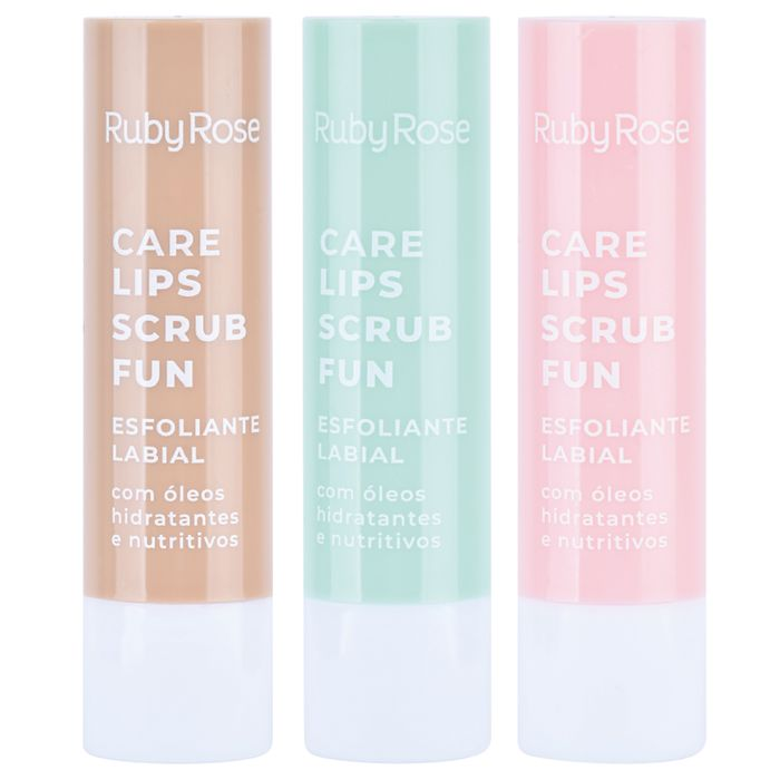 Care Lips Esfoliante Labial Ruby Rose