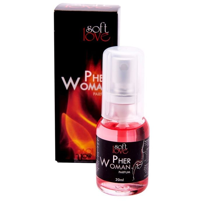 PERFUME PHERWOMAN FEMININO 20ML SOFT LOVE