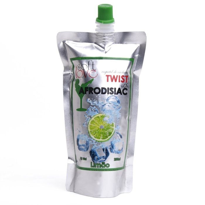 TWIST SEX LIMÃO BEBIDA AFRODISIÁCA 200ML SOFT LOVE
