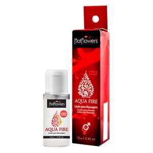 AQUA FIRE LUBRIFICANTE 12ML HOT FLOWERS