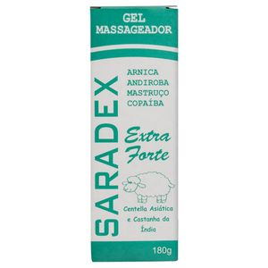 SARADEX EXTRA FORTE GEL MASSAGEADOR 180G RHENUKS