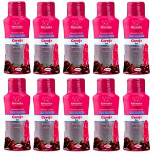 PACK 10 SABONETES CEREJA 200ML RHENUKS