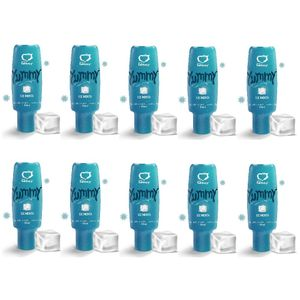PACK 10 YUMMY ICE MENTA GEL COMESTÍVEL 15ML SEXY FANTASY