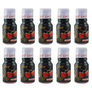 PACK 10 UNIDADES GEL HOT CEREJA 15ML GARJI
