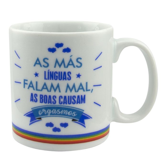 CANECA SENSUAL AS MÁS LÍNGUAS AGM