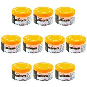 PACK 10 UNIDADES ESQUENTA CREME FUNCIONAL 3,5G HOT FLOWERS