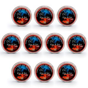 PACK 10 UNIDADES FIRE ICE LUBY 4G SOFT LOVE