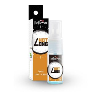 PACK 10 UNIDADES HOT LONG SPRAY 12ML HOT FLOWERS