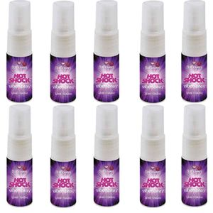 PACK 10 UNIDADES HOT SHOCK VIBERSPRAY 12ML HOT FLOWERS