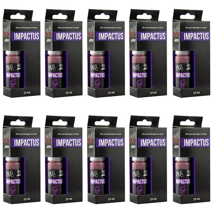 PACK 10 UNIDADES IMPACTUS JATOS SOFT LOVE