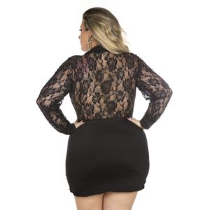 FANTASIA PLUS SIZE EXECUTIVA PIMENTA SEXY
