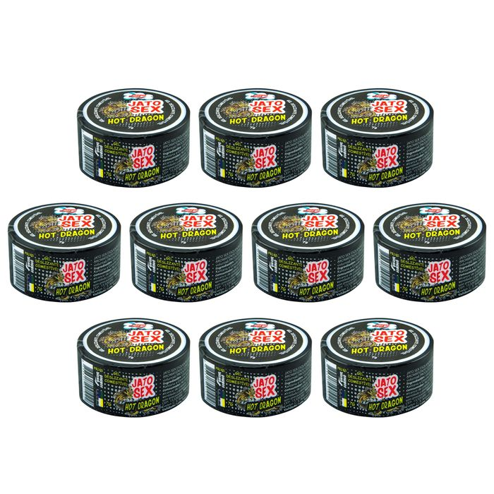 PACK 10 JATO SEX HOT DRAGON GEL 7G CADA PEPPER BLEND