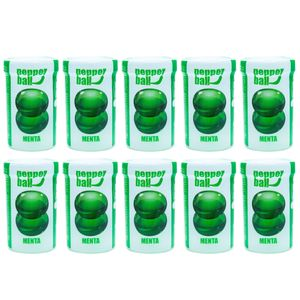 PACK 10 PEPPER BALL PLUS MENTA DUPLA 3G CADA PEPPER BLEND