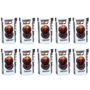 PACK 10 PEPPER BALL PLUS CHOCOLATE DUPLA 3G CADA PEPPER BLEND