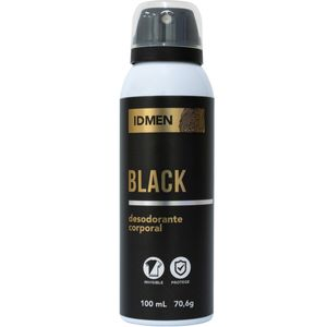 DESODORANTE CORPORAL IDMEN BLACK 100ML SOFT LOVE