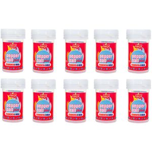 PACK 10 PEPPER BALL PLUS ESQUENTA ESFRIA DUPLA 3G CADA PEPPER BLEND