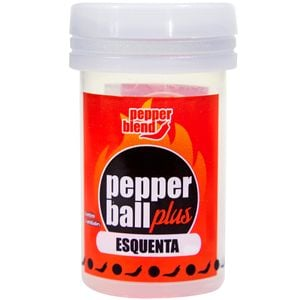 PACK 10 PEPPER BALL PLUS ESQUENTA DUPLA 3G CADA PEPPER BLEND