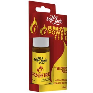 ULTRA POWER FIRE ELETRIC JATOS 15ML SOFT LOVE