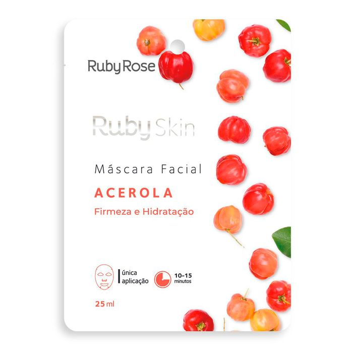 Máscara Facial Acerola Ruby Rose