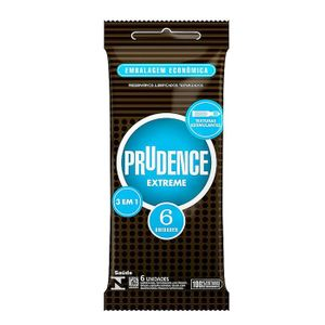 PRESERVATIVO EXTREME COM 6 UNID. PRUDENCE