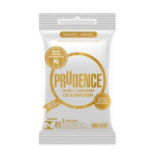 PRESERVATIVO CELEBRATION COM 3 UNID. PRUDENCE
