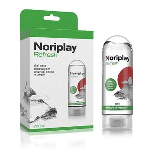 Gel para Massagem Oriental Noriplay Refresh Adão e Eva