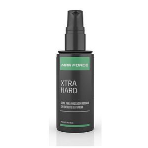 Creme p/ Massagem Peniana Man Force Xtra Hard 50g Adão e Eva