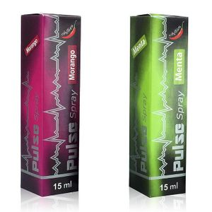 VIBRADOR LÍQUIDO PULSE SPRAY BEIJÁVEL 15ML CHILLIES