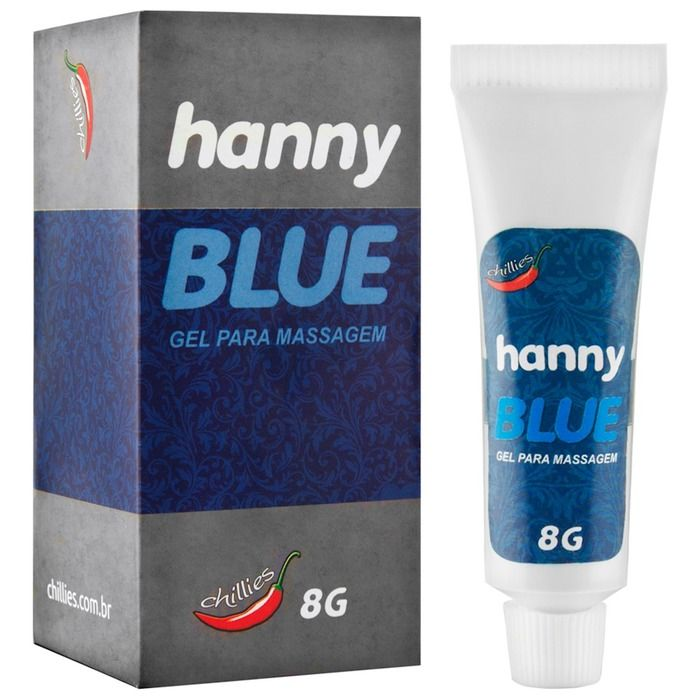 ANESTÉSICO HANNY BLUE 8G CHILLIES