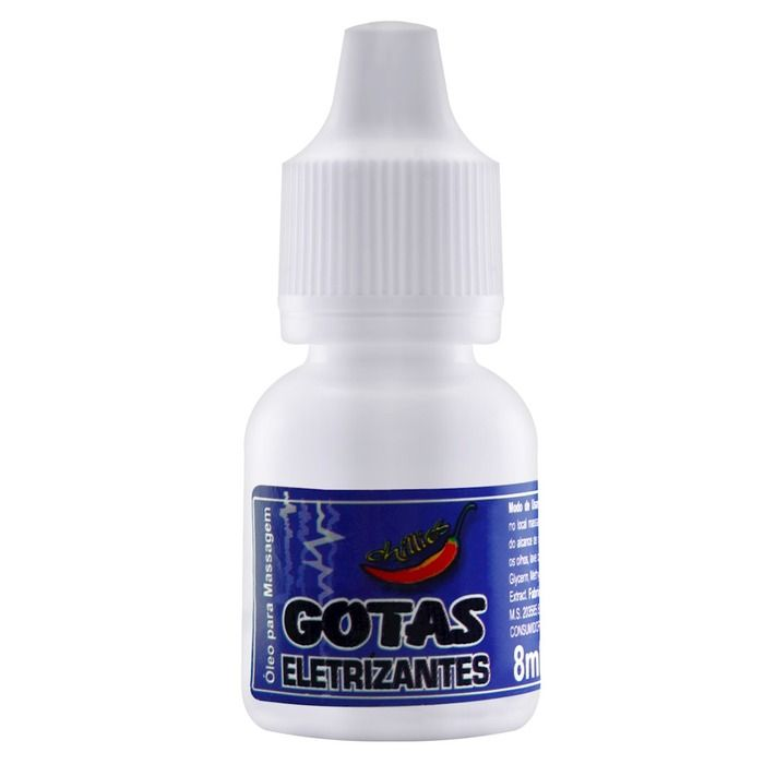 Gotas Excitantes Eletrizantes 8ml Chillies