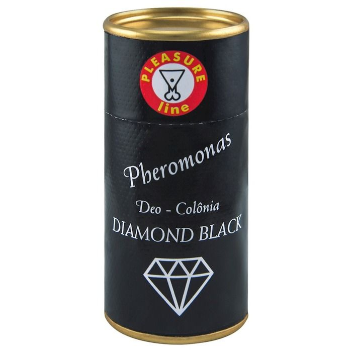 Perfume Pheromonas Diamond Black 20ml Pleasure Line