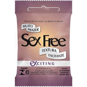 Preservativo Masculino Exciting C/3 Sex Free