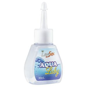 Lubrificante Aqua Luby 30ml Love Sex