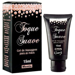 GEL PARA MASSAGEM TOQUE SUAVE 15ML GARJI