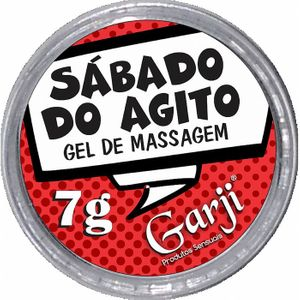 Gel de Massagem Sábado de Agito 7g Garji