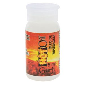 Lubrificante Excitante Hot Oil 5ml Garji