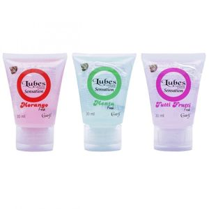 Lubrificante Lubes Sensation Fresh 30ml Garji