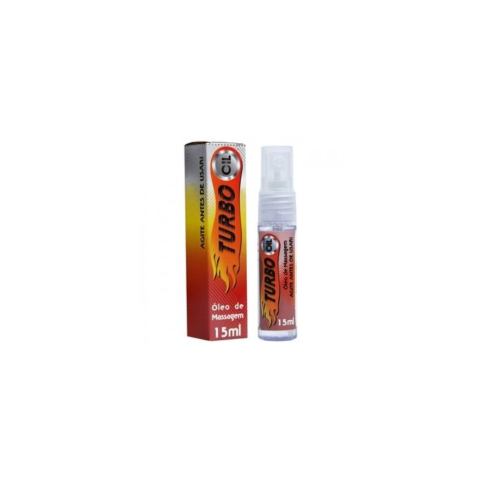 LUBRIFICANTE EXCITANTE TURBO OIL SPRAY 15ML GARJI