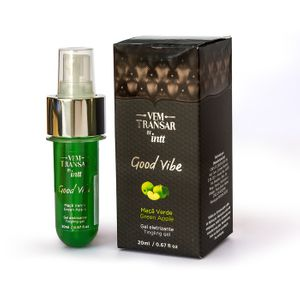 Gel Eletrizante Vem Transar Good Vibe 20ml Intt