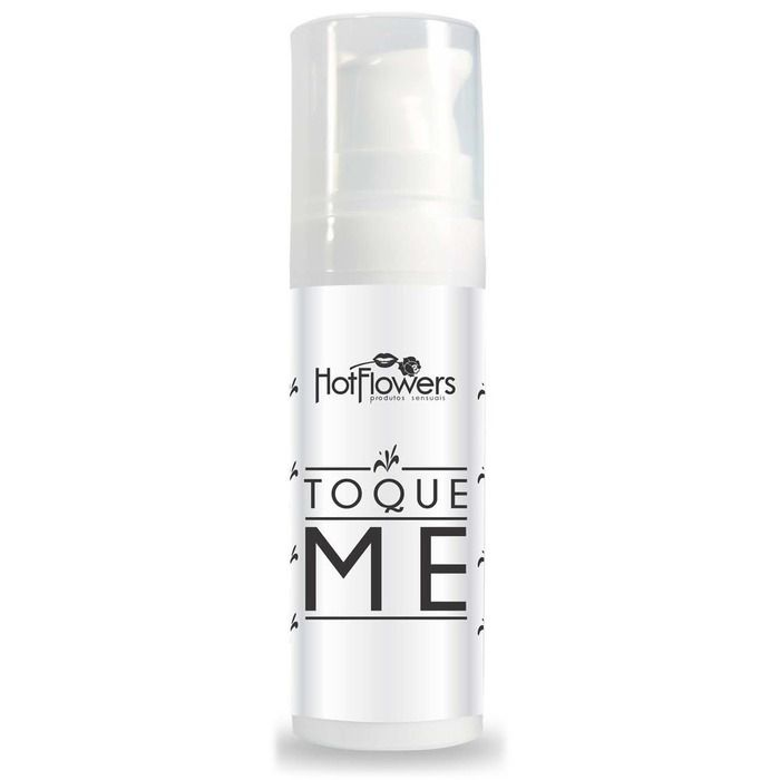 Gel Deslizante P/ Massagem Toque Me 16g Hot Flowers