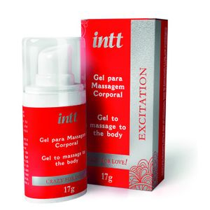 Gel p/ Massagem Corporal Excitation 17g Intt