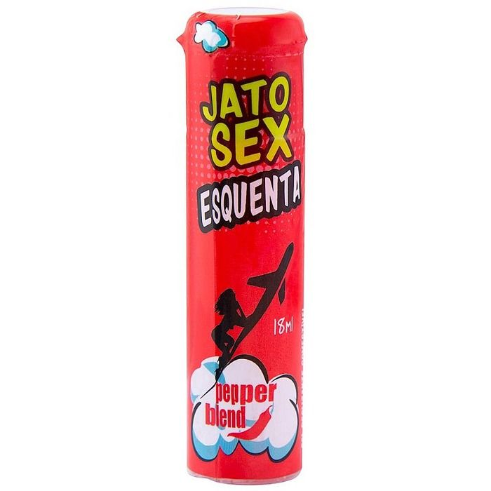SPRAY EXCITANTE JATO SEX ESQUENTA 18ML PEPPER BLEND