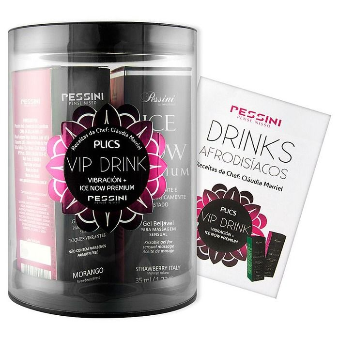 KIT SENSUAL VIP DRINK PESSINI