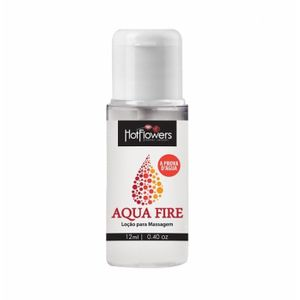 Lubrificante Siliconado Aqua Fire 12ml Hot Flowers