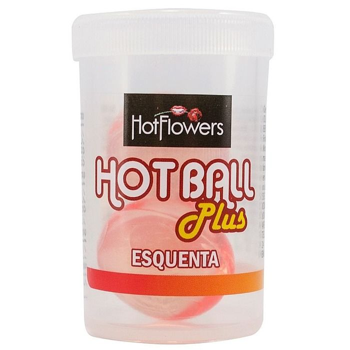 BOLINHA EXCITANTE HOT BALL PLUS ESQUENTA HOT FLOWERS