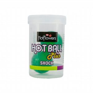 Bolinha Excitante Hot Ball Plus Shock Hot Flowers