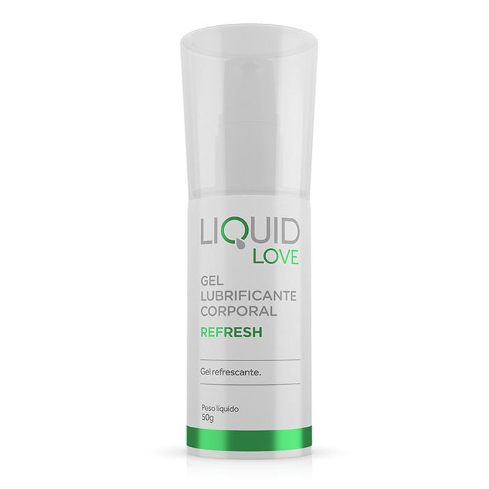 Gel Lubrificante Corporal Liquid Love Refresh Adão E Eva