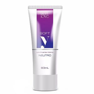 Lubrificante Íntimo Neutro Soft-Y 60ml Soft Love
